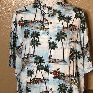 XL Batik Bay Mens Hawaiian Shirt